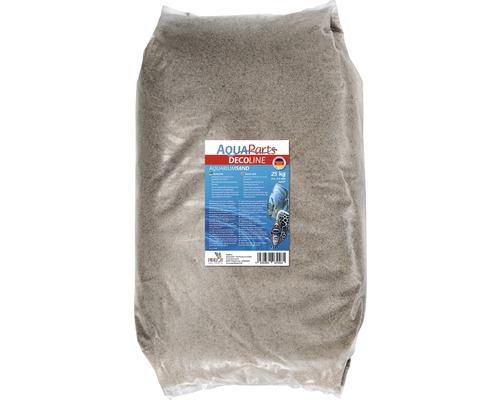 Sable pour aquarium PAPILLON 0,4-0,8 mm 25 kg marron
