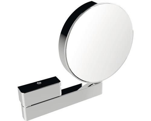 Miroir de maquillage LED Emco 3 et grossissant fois 7 chrome bras articulé
