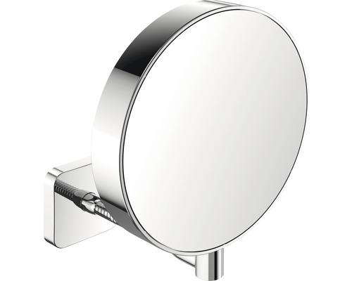 Miroir de maquillage Emco grossissant fois 3/7 chrome modèle mural