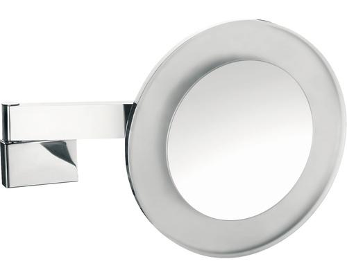 Emco LED Emco Kosmetikspiegel 5-fach eckig chrom