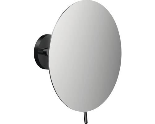 Emco Kosmetikspiegel schwarz 3-Fach rund