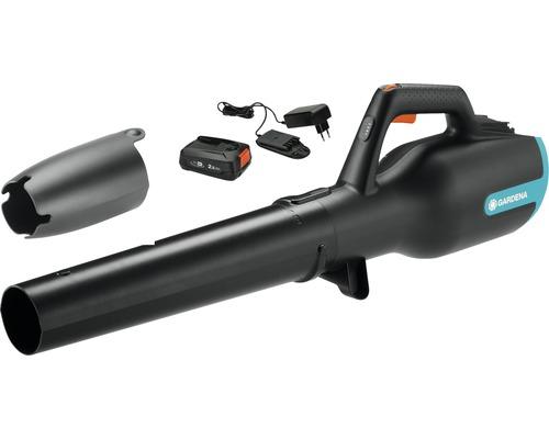 Souffleur de feuilles sans fil GARDENA PowerJet 18V (Power for All) avec batterie et chargeur