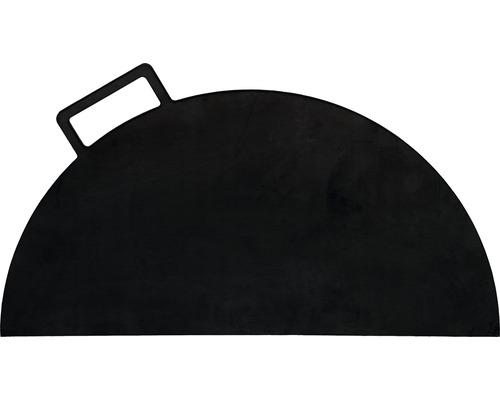 Plaque en fonte Buschbeck pour brasero Ø 60cm fonte semi circulaire