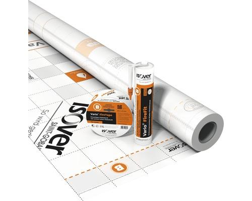 Membrane climatique ISOVER Vario KM FirePlex rouleau 1,50 x 40 m = 60 m²