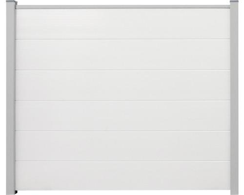 Système empilable Kit prêt à l''emploi PVC BasicLine 180x180 cm sans poteau, blanc