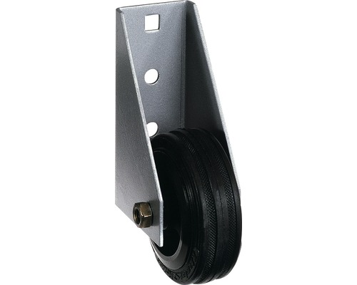 Galet de roulement de porte pour portes lourdes 110x44,5mm, galvanisé à chaud