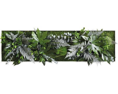 Tableau végétal Design jungle 140x40 cm