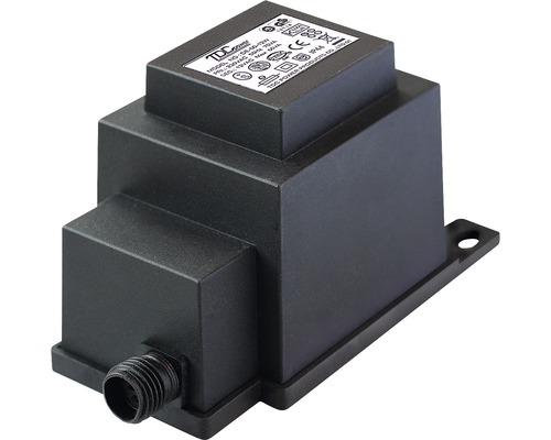 Transformateur pour l''extérieur 60 watts noir Season Lights