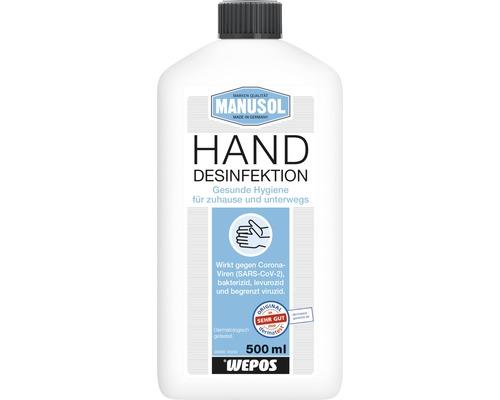Manusol Hände Desinfektionsmittel 500 ml