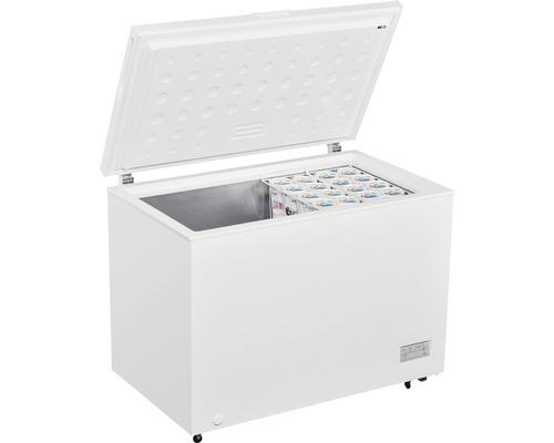 Congélateur coffre PKM GT 300.2 lxhxp 112 x 84.50 x 70 cm compartiment de congélation 308 l