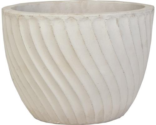 Pot de fleurs Lafiora Ø 43 cm H 32 cm vintage white