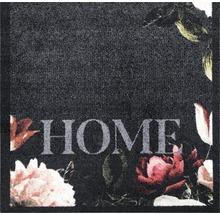 Tapis de couloir rose vif Roses anthracite 66x120 cm-thumb-1
