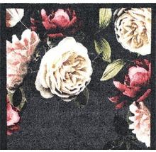 Tapis de couloir rose vif Roses anthracite 66x120 cm-thumb-2