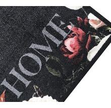Tapis de couloir rose vif Roses anthracite 66x120 cm-thumb-3