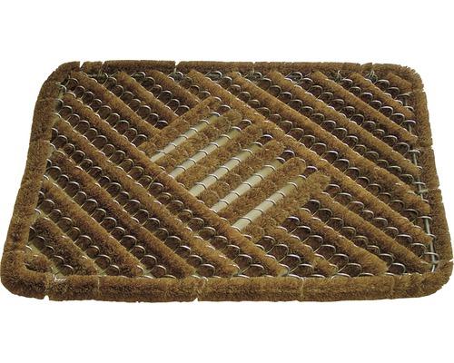 Paillasson grille coco Draco 40 x 60 cm