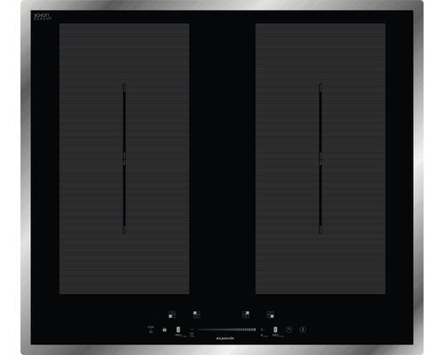 Plaque à induction Wolkenstein IF60-2FZBWSGW largeur 59 cm