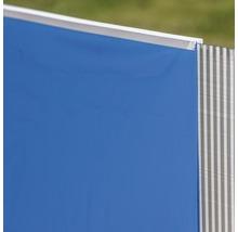 Aufstellpool Stahlwandpool-Set oval 744x575x132 cm inkl. Sandfilteranlage, Skimmer, Leiter, Filtersand & Bodenschutzvlies weiß-thumb-4