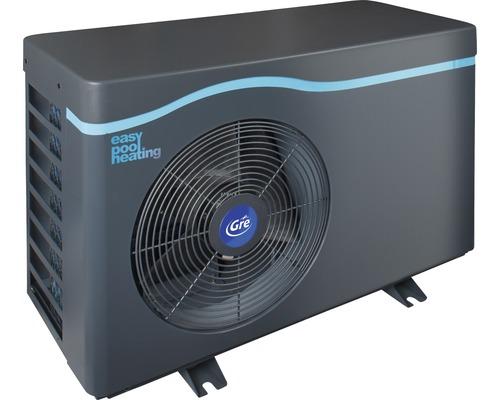 Chauffage de piscine standard pompe à chaleur Gre 5,0kW jusqu''à 25 m³ gris