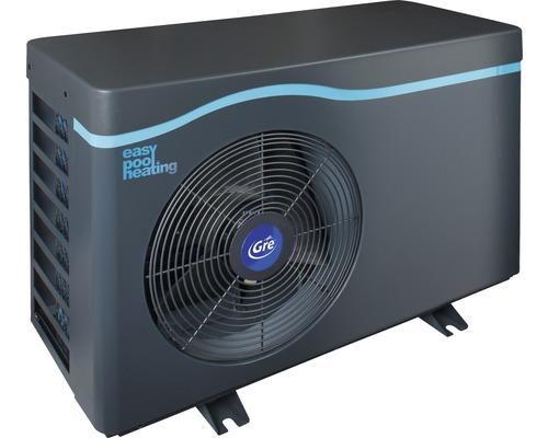 Chauffage de piscine standard pompe à chaleur de piscine Gre 11kW jusqu''à 50 m³ gris