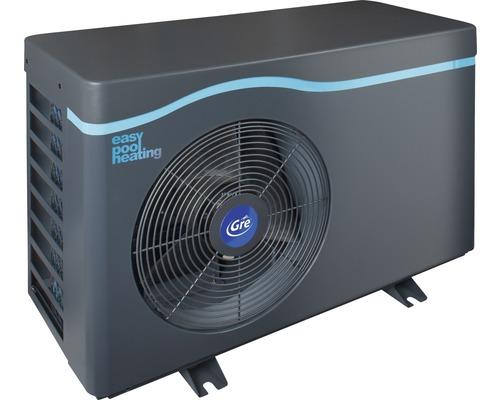 Chauffage de piscine standard pompe à chaleur de piscine Gre 7,0kW jusqu''à 40 m³ gris