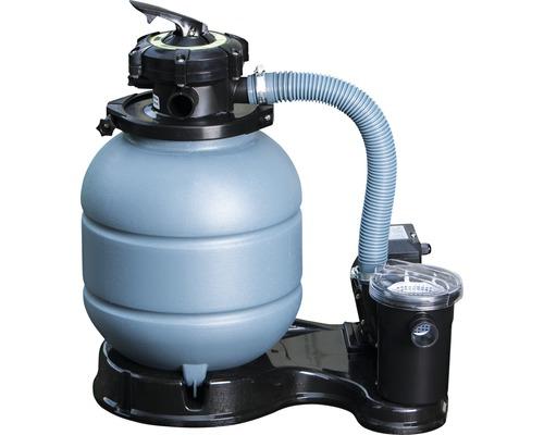 Installation de filtre à sable pour piscine 4 m³/h