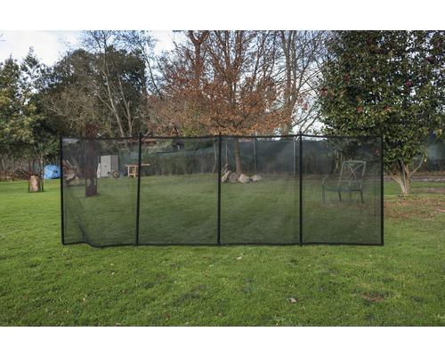 Barrière de sécurité pour chauffage de piscine noir