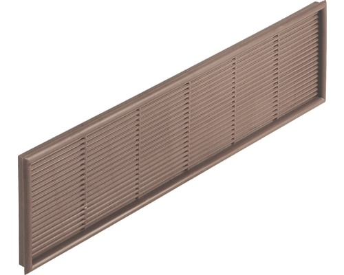 Grille pour meubles Rotheigner brune 242 x 64 mm