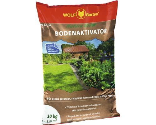 Activateur de sol BIO Natura WOLF-Garten 10 kg 120 m²