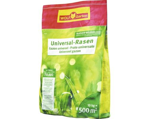 Semis pour gazon universel WOLF-Garten 10 kg 500 m²