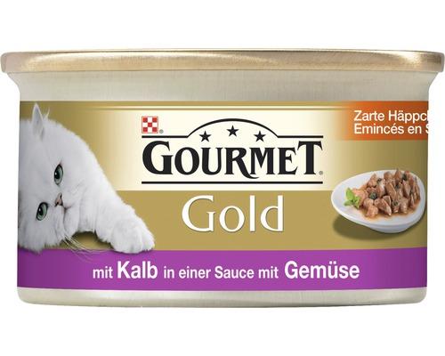 Nourriture humide pour chats, bouchées tendres Gourmet 85g