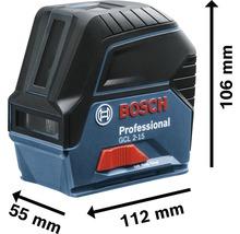 Kombilaser Bosch Professional GCL 2-15 inkl. 3 x 1,5 V-LR6-Batterie (AA) und Laserzieltafel-thumb-4