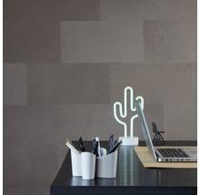 Plaque murale cuir Taupe 8 pces 25x50 cm-thumb-3