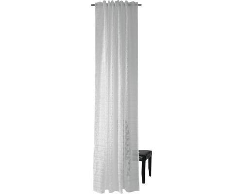 Rideau avec boucles cachées Franje blanc 140x245 cm