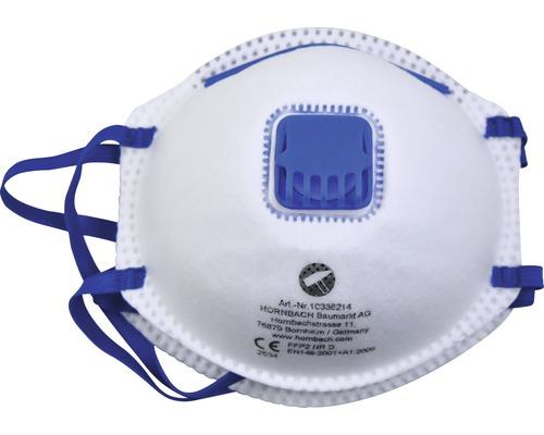 Masque antipoussière FFP2 avec soupape, lot de 2