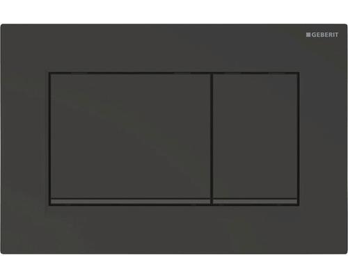 Plaque de commande GEBERIT Sigma 30 noir mat laqué 115.883.16.1