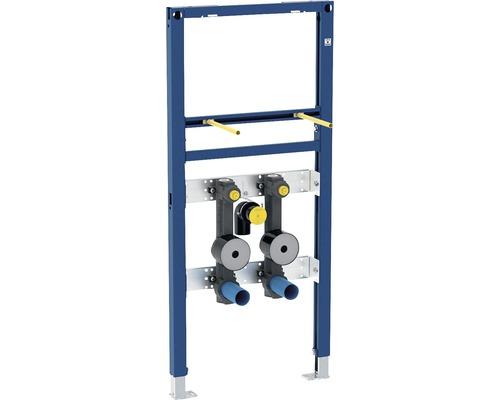 Bâti-support pour lavabo Geberit Duofix 112 cm mitigeur posé 2 raccords pour compteur d''eau 111.473.00.1