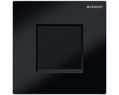 Commande d''urinoir GEBERIT type 30 électronique fonctionnement sur piles noir 116.037.KM1