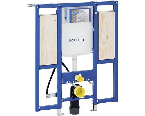 Bâti-support pour WC suspendu Geberit Duofix 112 cm avec réservoir de chasse d''eau montage encastré Sigma 12 cm accessibilité à tous pour barre de support et de maintien 111.375.00.5