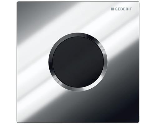 Commande d''urinoir GEBERIT HyTronic Sigma 01 sans contact, fonctionnement infrarouge sur pile chrome 116.031.215