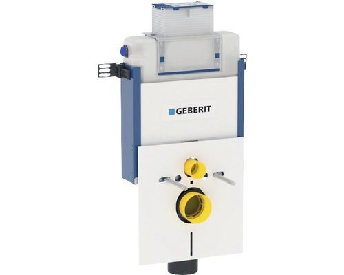 Bâti-support Geberit Kombifix 82 cm pour WC suspendu avec réservoir de chasse d''eau Omega 12 cm montage encastré pour actionnement par le haut ou par l''avant 110.000.00.1