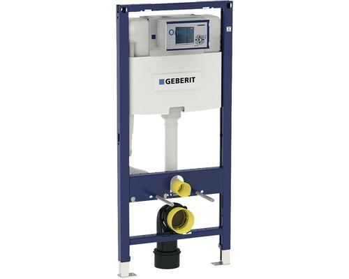 Bâti-support Geberit Duofix 112 cm pour WC suspendu avec réservoir de chasse d''eau montage encastré Omega 12 cm pour actionnement par l''avant 111.060.00.1