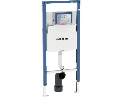 Bâti-support Geberit Duofix pour WC à poser h 112 cm avec réservoir de chasse d''eau montage encastré Sigma 12 cm pour WC enfants 111.915.005