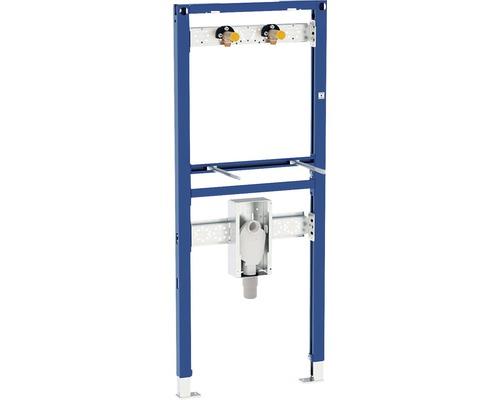 Bâti-support pour vasque Geberit Duofix 130 cm siphon à montage encastré et robinet pose en saillie 111.477.00.1
