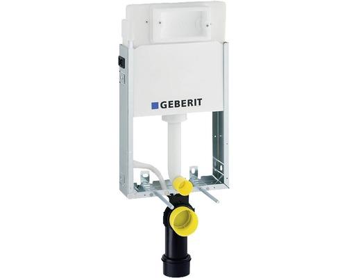 Bâti-support Geberit Kombifix 108 cm pour WC suspendu avec réservoir de chasse d''eau montage encastré Delta 12 cm pour actionnement par l''avant 110.100.00.1