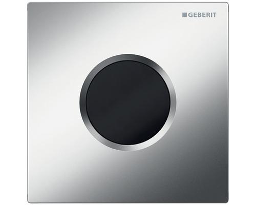 Commande d''urinoir GEBERIT HyTronic Sigma 01 sans contact, fonctionnement infrarouge sur pile chrome mat satiné 116.031.465