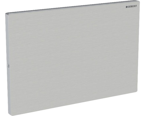 Plaque de recouvrement GEBERIT pour réservoir de chasse d''eau montage encastré Sigma acier inoxydable vissé 115.764.FW1