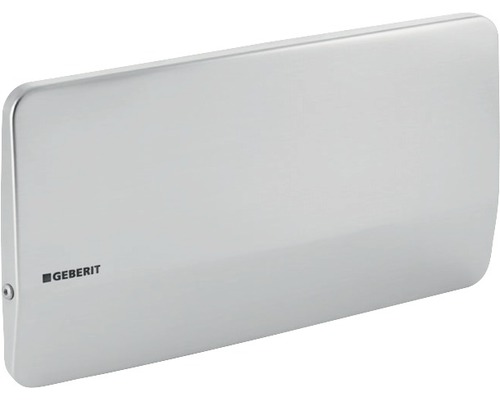 Plaque de recouvrement GEBERIT Twinline acier inoxydable à visser 115.398.001