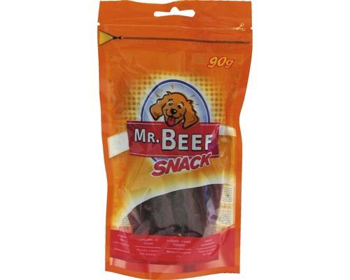 Nourriture pour chiens MR. BEEF lamelles de filet de canard 90g