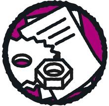 Pack pour porte vitrée Aurlane avec profils CAB147 1/3-thumb-0
