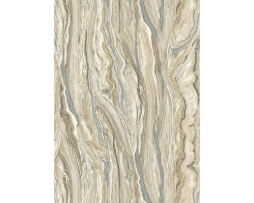 Papier peint intissé 10149-02 ELLE Décoration marbre beige